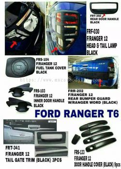 FORD RANGER T6 CAR ACCESSORIES & PARTS