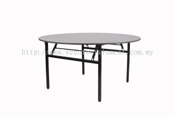 5ft Banquet Round Table