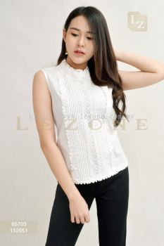65703 LACE DETAIL BLOUSE