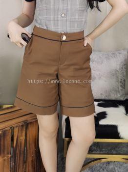 29063 Front Button Pocket Half Pant