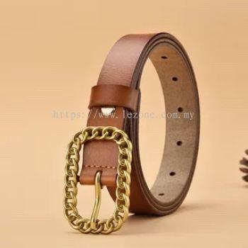 BT0001 Leather Buckle Belt