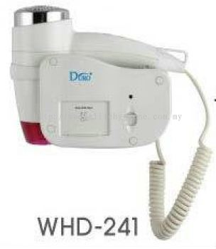 EH DURO® Wall Mounted Hair Dryer 241
