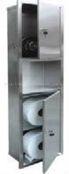 EH Stainless Steel Hand Dryer with Storage Cabinet (Recessed) 200