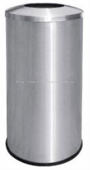 EH Stainless Steel Litter Bin c/w Open Top 52