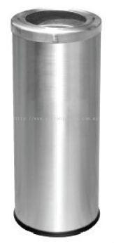 EH Stainless Steel Litter Bin c/w Open Top 009.010