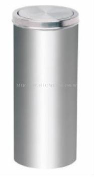 EH Stainless Steel Litter Bin c/w Flip Top 063.64
