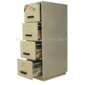 Fire Resistant Series 4 Drawer (FRC 4D)