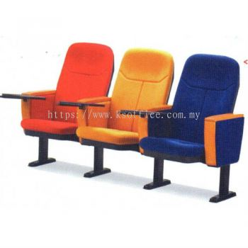 Auditorium Chair XXVIII (FD-3WT 3 Seater) with Writing Table