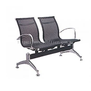 Netto 2 Seater Mesh Link Chair (NT 6-2)