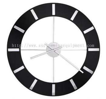 Howard Miller 625-602 Onyx Large Wall Clock
