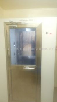 Air Shower Room and Installation
