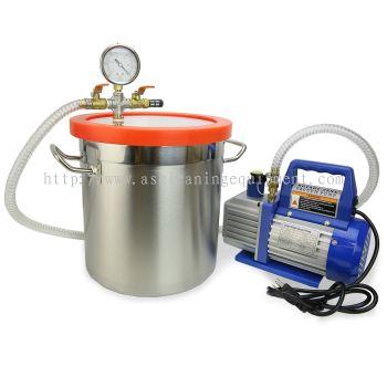 Stainless Steel Round Vacuum Chamber