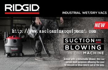 Ridgid Industrial Heavy Duty Vacuum Cleaner