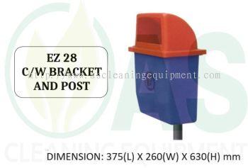 EZ 28 C/W BRACKET AND POST