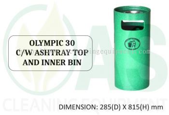 OLYMPIC 30 C/W ASHTRAY TOP AND INNER BIN