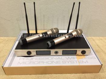 UHF Professional Wireless Microphone System