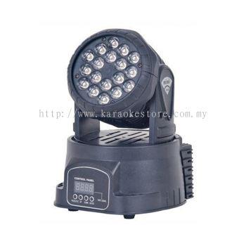 Mini LED Moving Head Light 18 x 3W FS-LM183
