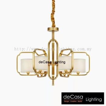 Chandelier Gold Series
