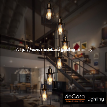 High Ceiling Pendant Light