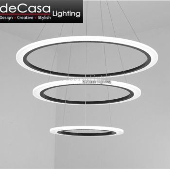 Modern Led Ring Pendant Light