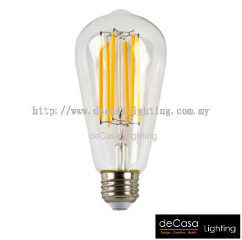 LED EDISON BULB-6W-ST64