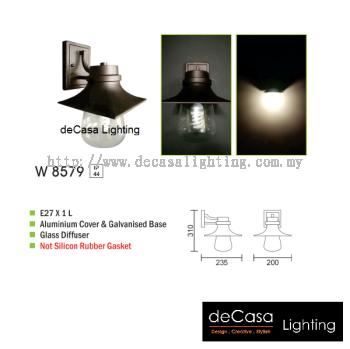 OUTDOOR WALL LIGHT W 8579 E27
