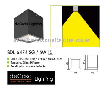 OUTDOOR LIGHT SDL 6474 SG 6W
