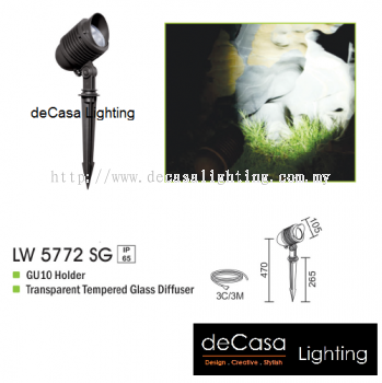 OUTDOOR SPIKE LIGHT LW 5772 SG