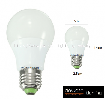 LED MINI GLOBE BULB - 18W - DAYLIGHT