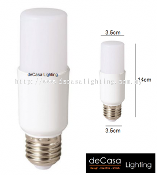 ECO LED STICK BULB - E27 - 16W - WARM WHITE