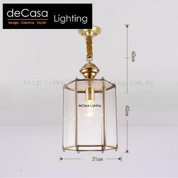 MODERN DESIGNER GOLD PENDANT LIGHT