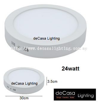 12W LED SURFACE DOWNLIGHT ROUND AY-12W-RD