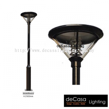 WQ9020 OUTDOOR GARDEN POLE LIGHT