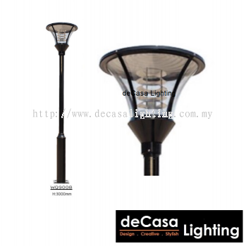 WQ9008 OUTDOOR GARDEN POLE LIGHT