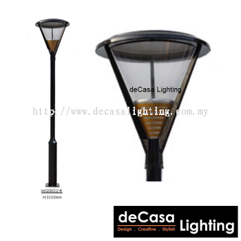 WQ9024 OUTDOOR GARDEN POLE LIGHT