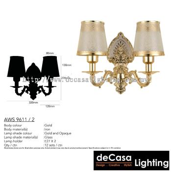 ANTIQUE WALL LIGHT (AWS9611-2)