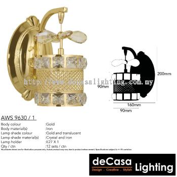 ANTIQUE WALL LIGHT (AWS9630-1)