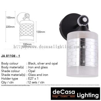 Modern Contemporary Wall Light (JA81108-W)