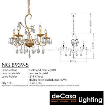 CHANDELIER (NG8939-5)