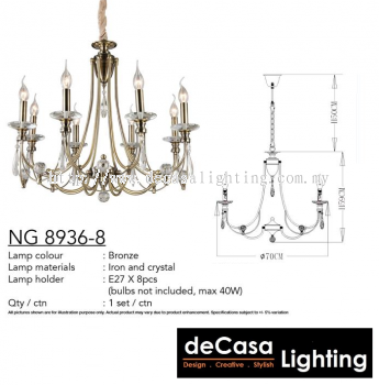 CHANDELIER (NG8936-8)