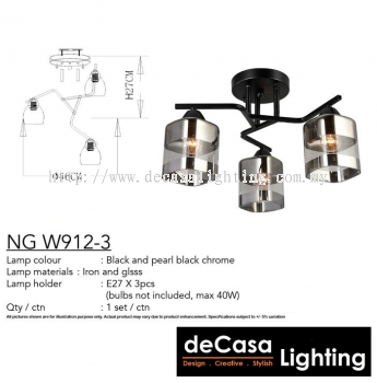 CEILING LIGHT (NG-W912-3)