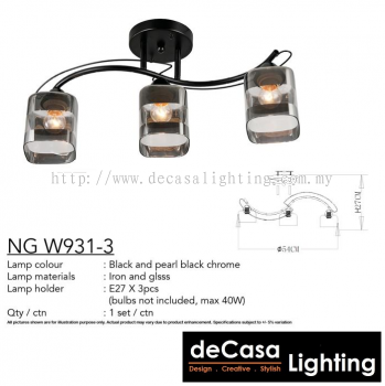 CEILING LIGHT (NG-W931-3)