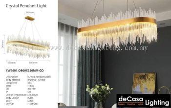 CRYSTAL CHANDELIER 3C LED