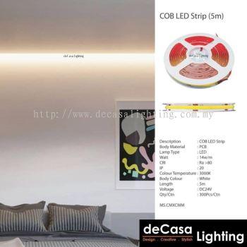 COB Led Strip Light (5m/Roll) 12v/ 24v