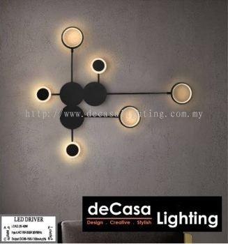 CIRCLE RING LED 3C. BLACK OR WHITE