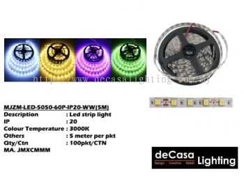 LED STRIPS 5050 IP20
