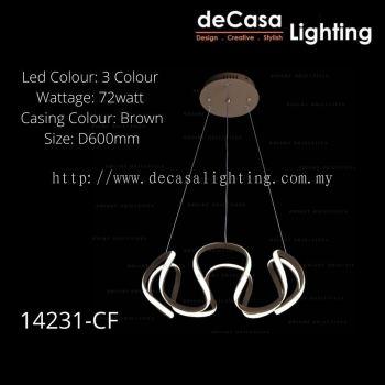 DESIGNER LED PENDANT LIGHT RING LIGHT - 72W
