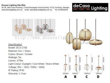 PENDANT LIGHT - Designer Pendant Light