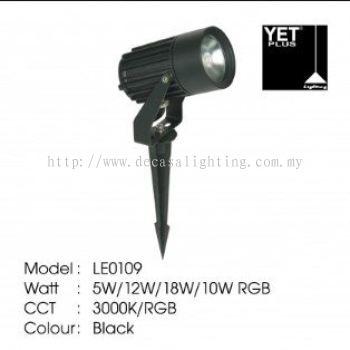 YET PLUS SPIKE LIGHT 1P65 3000K/RGB