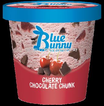 Blue Bunny Pint Cherry Chocolate Chunk